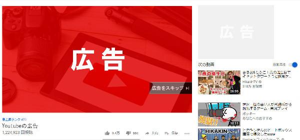 youtube 広告位置 インストリーム広告